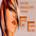 TINTE SIN AMONIACO +  CORTE + PEINADO
