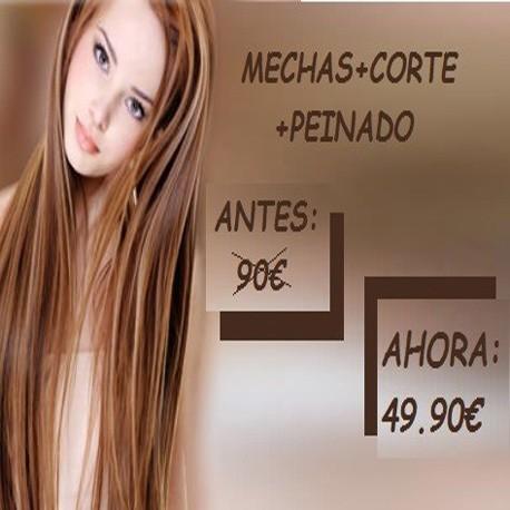 MECHAS+CORTE+PEINADO